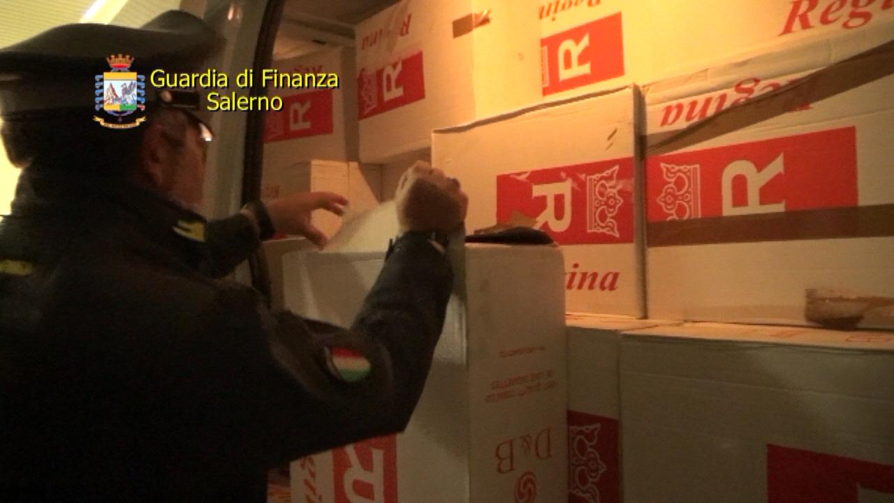 Lotta al contrabbando di sigarette, sequestrate 8,4 tonnellate e arrestati 4 responsabili