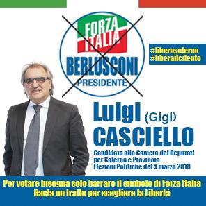 Gigi Casciello - Forza Italia