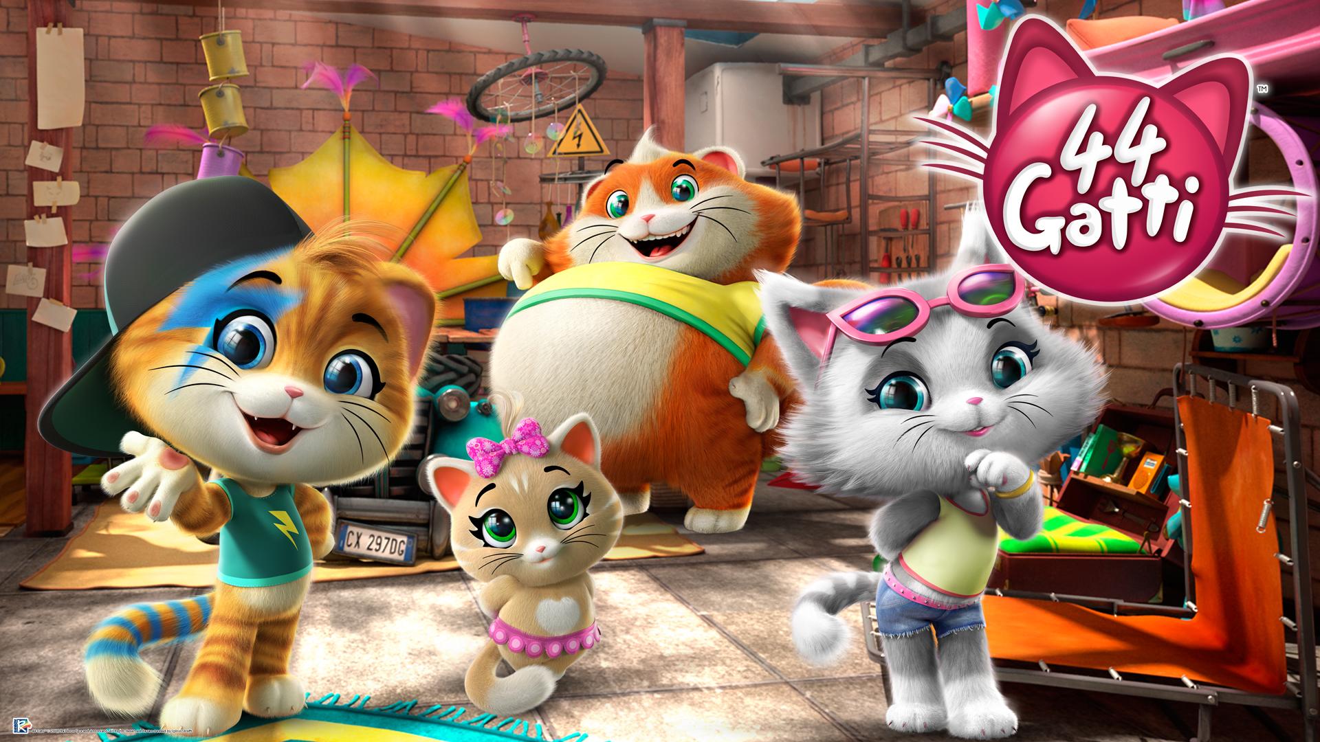 Gatti anteprima della nuova serie animata di rai yo