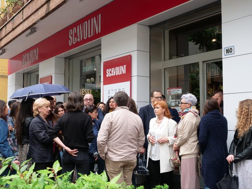 Grande affluenza allo Scavolini Store per il casting del ...