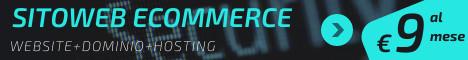Realizza il tuo sito web gratis anche di commercio elettronico o con il modulo booking