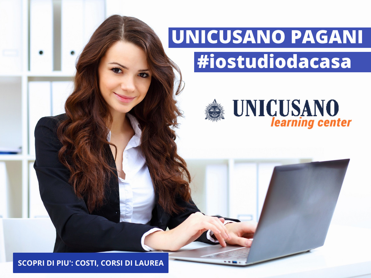 Vuoi laurearti velocemente? Iscriviti all'università on line Unicusano presso la sede di Pagani