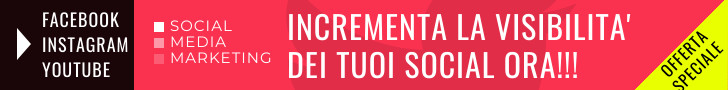 Incrementa i mi piace Facebook o i follower Instagram con i nostri servizi di social media marketing